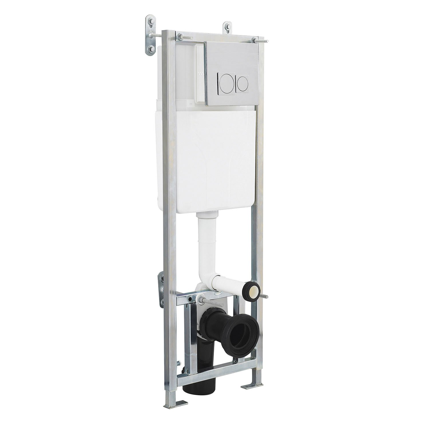 Hudson Reed XTY006 Universal Access Concealed Cistern - Black Premier