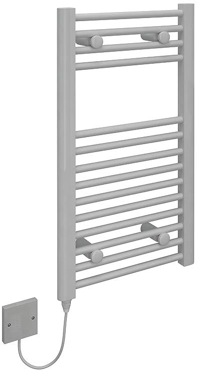 KUDOX - Toallero térmico eléctrico de 500 x 1100 mm soporte de cromo: Amazon.es: Bricolaje y herramientas
