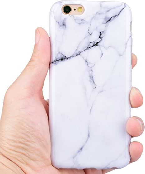 Cover per Apple iphone 6 MoEvn Custodia iphone 6s Silicone Marmo