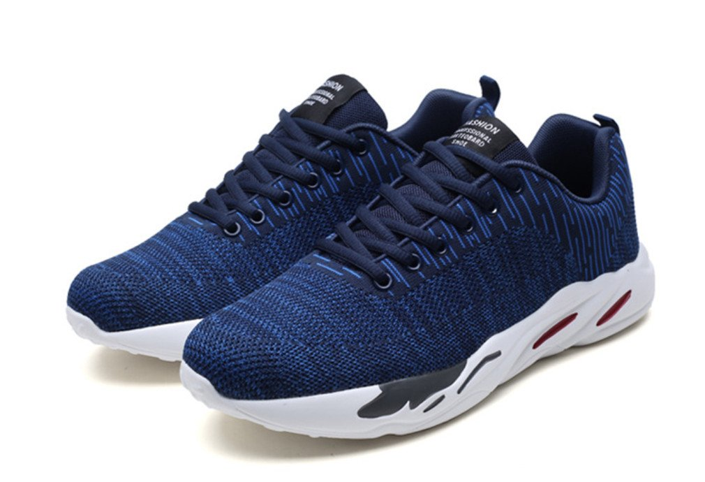LUCKY-U Hommes Chaussures, Hommes Occasionnels Chaussures De Sport Air Trainers Fitness Flats Running Athletic Sneakers De Compétition