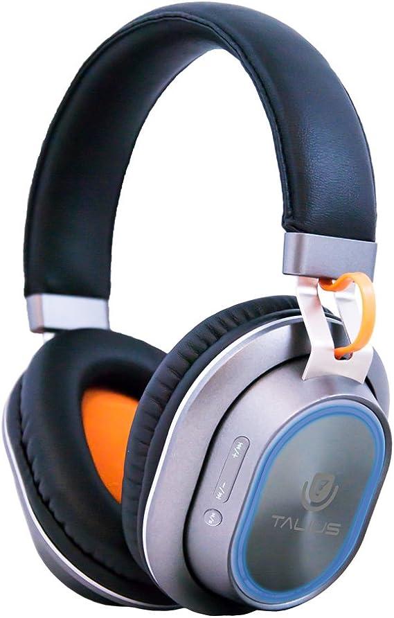 Talius HPH-5004BT Auriculares Bluetooth CSR 4.0, iluminación LED RGB, Color Gris: Amazon.es: Electrónica