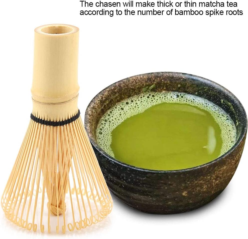 Accessories Matcha Tea Japanese Tea Set Qiterr Green Tea Whisk,Tea Powder Whisk Tea Pot Tea Ceremony 100 Prongs Tea Maker