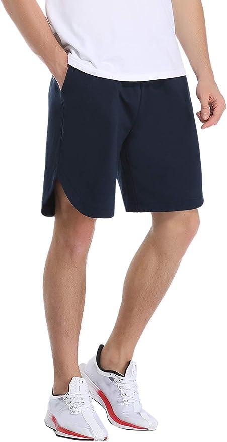 iClosam Pantalones Deportivos Algodón Hombre Cortos Shorts ...