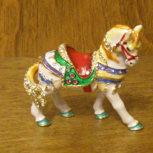 Horse Jeweled Box - 5