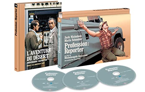 Amazon Com Profession Reporter Bd Dvd Livre Coffret