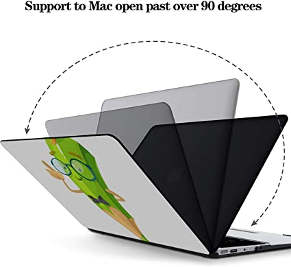 MacBook Pro Accessories Colorful Drawing Childish Pencil Plastic Hard Shell Compatible Mac Air 11 Pro 13 15 Mac Book Air Covers Protection for MacBook 2016-2019 Version