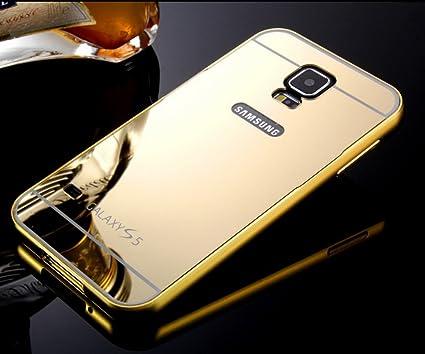 Funda carcasa Samsung Galaxy S5 Espejo, aleación de aluminio ...