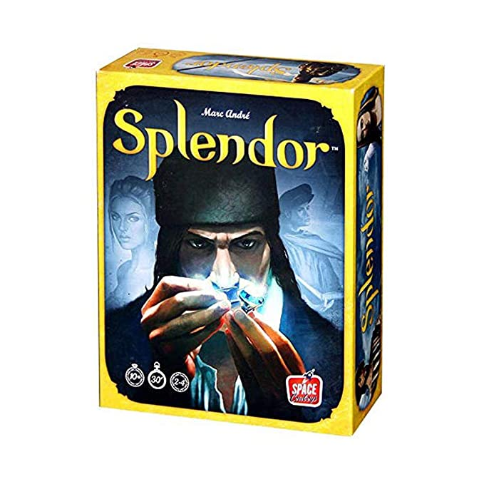 ICVDSRG Big Box of The Full English Version of The Splendor Juego ...