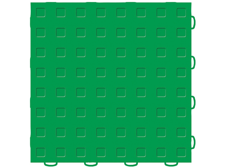 Kelly Green//Kelly Green 12 x 12 WeatherTech TechFloor Tile 51T1212V KG-KG 12 x 12