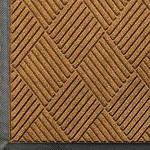 Andersen 208 Gold Polypropylene Waterhog Classic Diamond Entrance Mat, 6-Feet Length X 3-Feet Width, for Indoor/Outdoor
