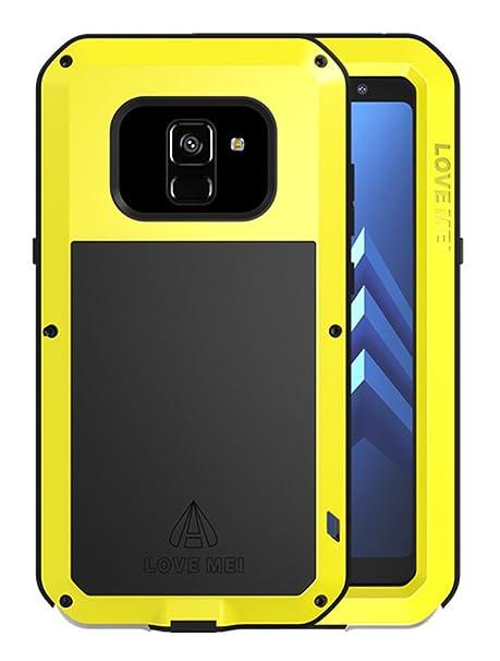 half off 241de b8d4f Amazon.com: Waterproof Case Samsung Galaxy A8+ (2018 Version), Love ...