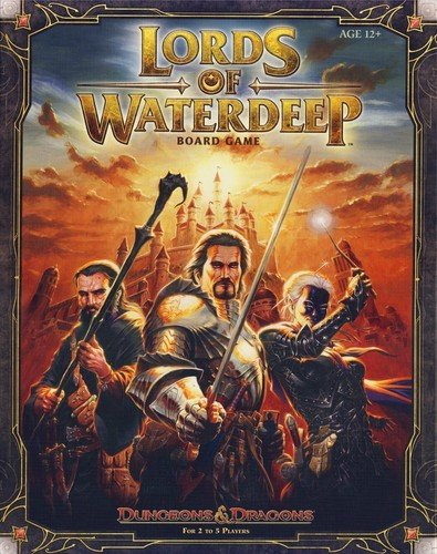 Lords of Waterdeep: A Dungeons & Dragons Board