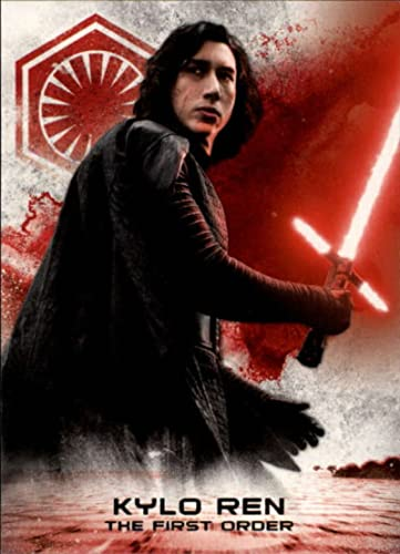 CHOOSE YOUR SIZE FREE P+P KYLO REN Poster Star Wars Last Jedi Movie New 2018