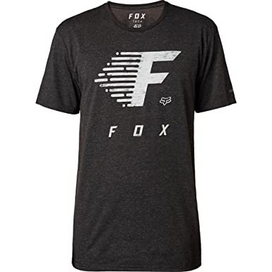 Fox Camiseta de FADE to Track Tech, Black, tamaño M