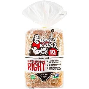 Dave's Killer Bread White Bread Done Right, 24 oz