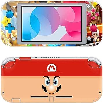 Switch Lite Pegatina, Llustración De Etiqueta De Piel, Adecuada para Película Protectora De Etiqueta De Piel De Switch Lite (Mario): Amazon.es: Electrónica