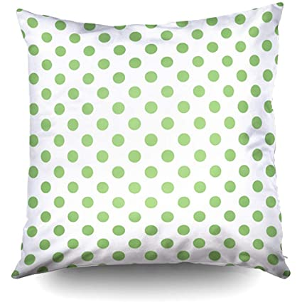 Wondrous Amazon Com Pistachio Green Polka Dots Circles Accent Machost Co Dining Chair Design Ideas Machostcouk