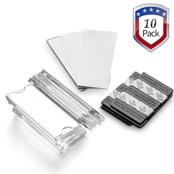 Amazon.com: Wukong - 100 imanes magnéticos para tarjetas de ...