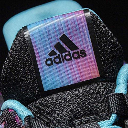 adidas Unisex-Kinder RapidaRun Uncaged K Fitnessschuhe Mehrfarbig (Negbas/Azuene/Ftwbla)