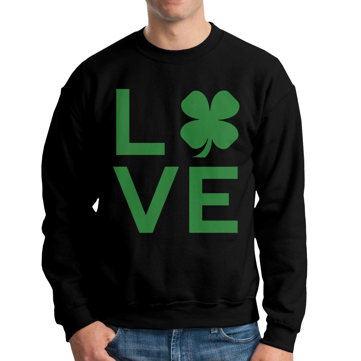 I Love St Patrick S Day Adult S Fashion Hoody T Shirt