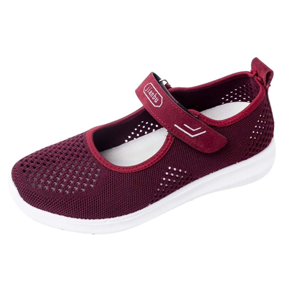 Moonker Womens Walking Sneakers Wide Width Casual Shoes Ladies Girls Breathable Lightweight Mesh Running Sports Shoes