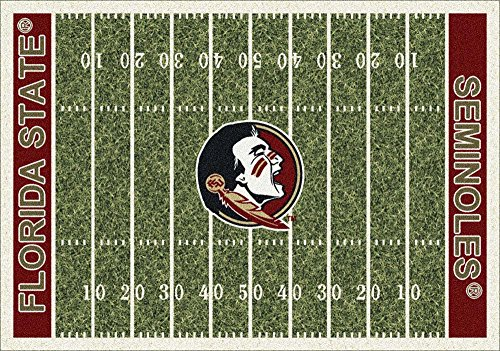 Milliken 4000018747 Florida State College Home Field Area Rug, 10'9'' x 13'2'', 01514 Home Field by Milliken (Image #1)