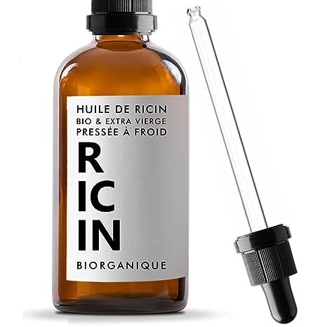 Aceite de ricino, 100% ecológico, puro y natural,&nbsp