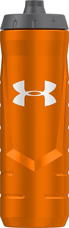 Blaze Orange Under Armour Sideline 32 Ounce Squeezable Bottle