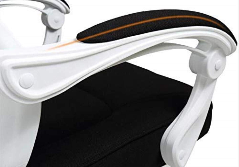 RXL bekväm vilande kontorsstol datorstol hem ergonomisk nät kontorsstol konferensstol studie robust Svart Vitt