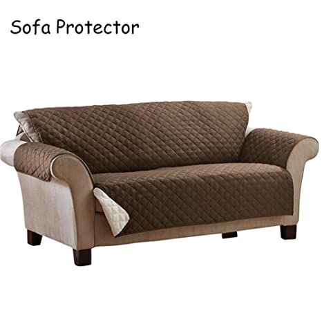Per Fundas para Sofás Cubre Protectivo para Sofá Cubeirtas Anti-Suciedad (3 plazas)
