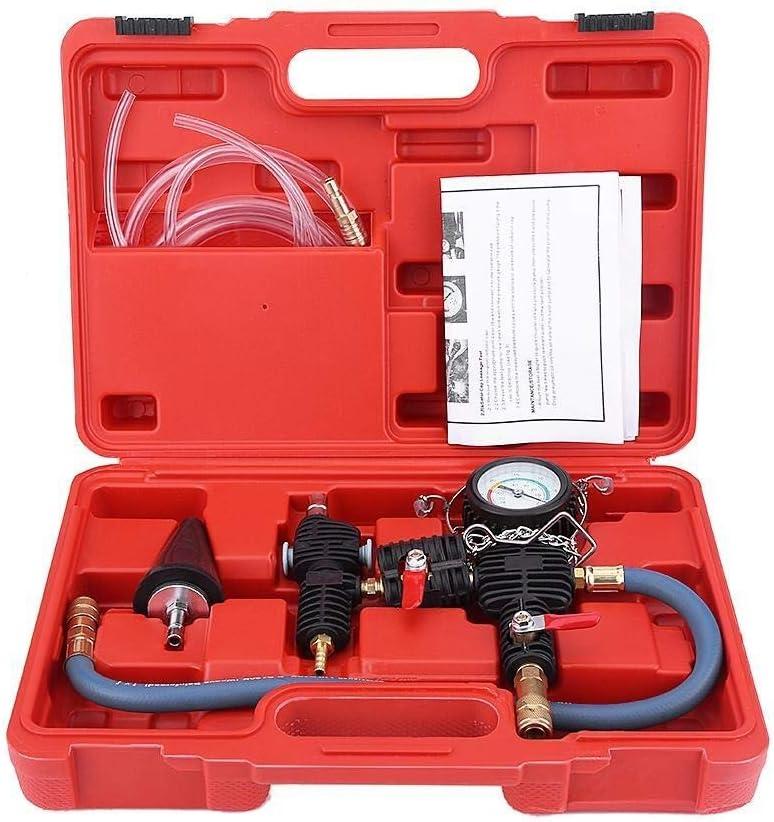 Broco Sistema de vacío del líquido refrigerante del radiador del coche de purga y llenado de refrigerante Tool Kit anticongelante y agua cambiador