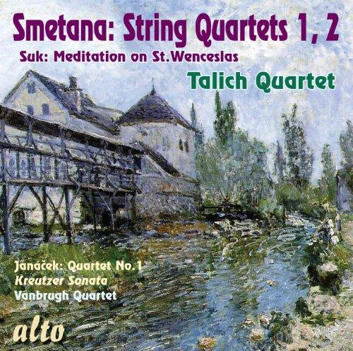 Smetana String Quartets 1, 2 /...