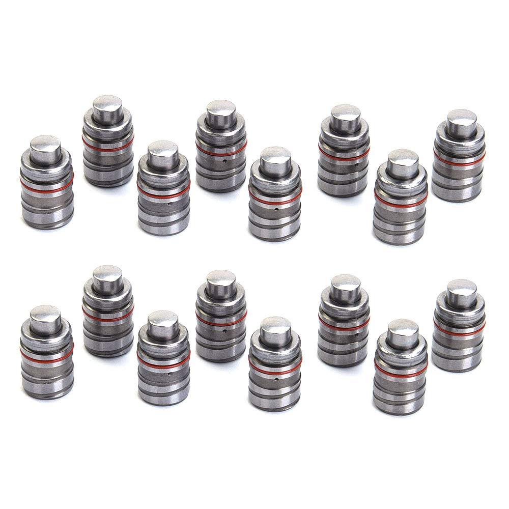 Pack of 12 L/&C OFFICIAL Valve Lifters Lash Adjusters for 87-93 2.2L Ford 2.2L 2.6L for Mazda SOHC L4 JFY1-12-100 24610-22600 24610-22020