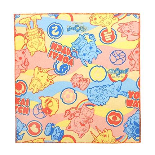 福袋 (セット品) ジバニャン やわらかマイクロウォッシュタオル (タオルハンカチ) 10個セット 妖怪ウォッチ B017G63I40