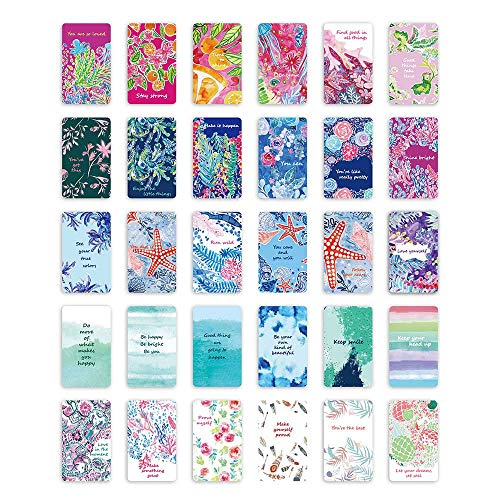 Encouragement Card - Watercolor Designs Inspirational Quote Cards,2.3