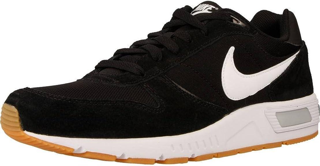 Nike Nightgazer, Zapatillas para Hombre, Negro (Black/White), 43 EU: Amazon.es: Zapatos y complementos