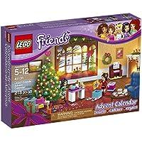 LEGO Calendario de adviento Building Kit, Amigos, Multi Color