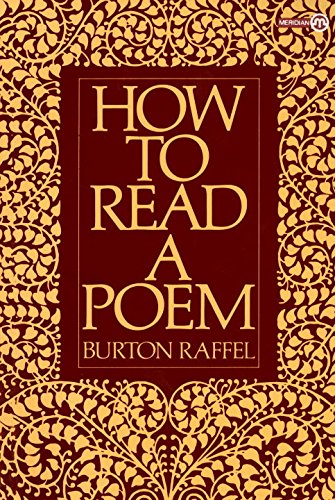 How to Read a Poem (Meridian) - Stores Meridian Mall