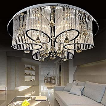 Ledvas modern luxury living room ceiling lamp fixture crystal ledvas modern luxury living room ceiling lamp fixture crystal chandelier lighting 68cm267in aloadofball Image collections
