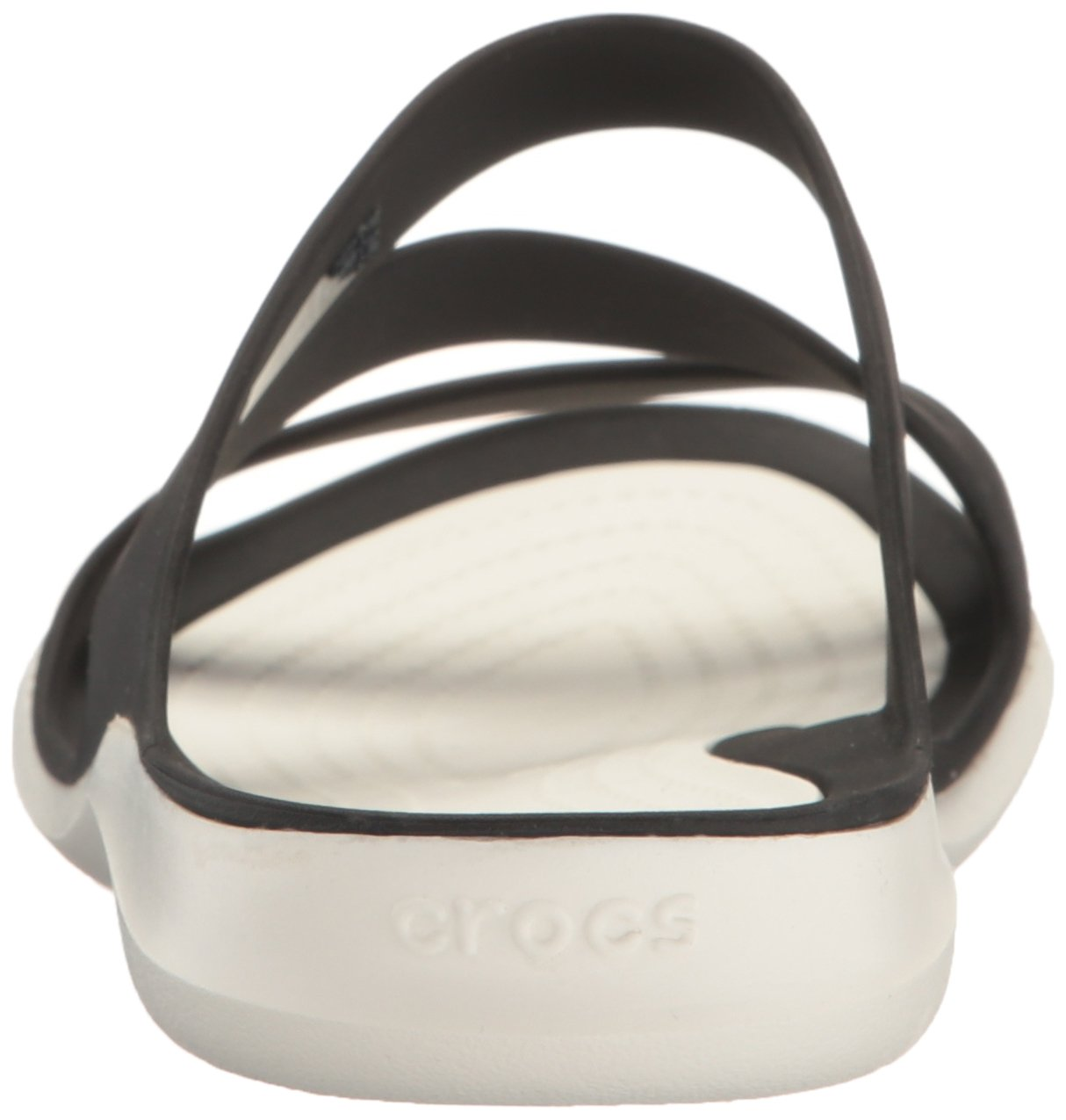 Crocs Women's Swiftwater Sandal B01H70LJVY 10 M US|Black/White