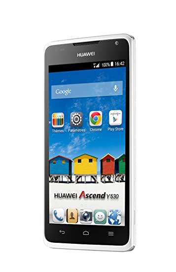 Huawei Ascend Y530 Smartphone 45 Zoll 114 Cm Touch Display 4 Gb Speicher Android 43 Weiß