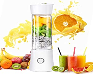 Blender And Food Processor,Auto Iq 100 Watts,Blender Art Tool,2-In-1 Smoothie Maker,Portable Juice Cup DHSM (White)
