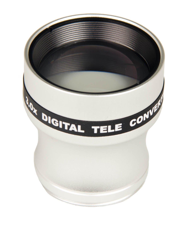Bower VL337N 3x Telephoto 37mm Conversion Lens