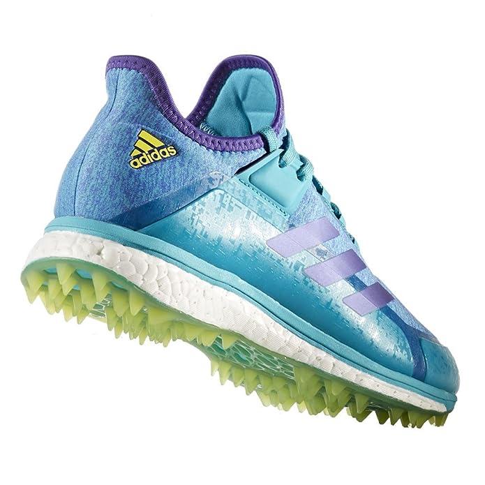 Amazon.com: adidas Womens Fabela X Aqua Yellow Hockey Shoes - SS18: Shoes