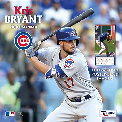 Cubs Kris Bryant 2018 Calendar