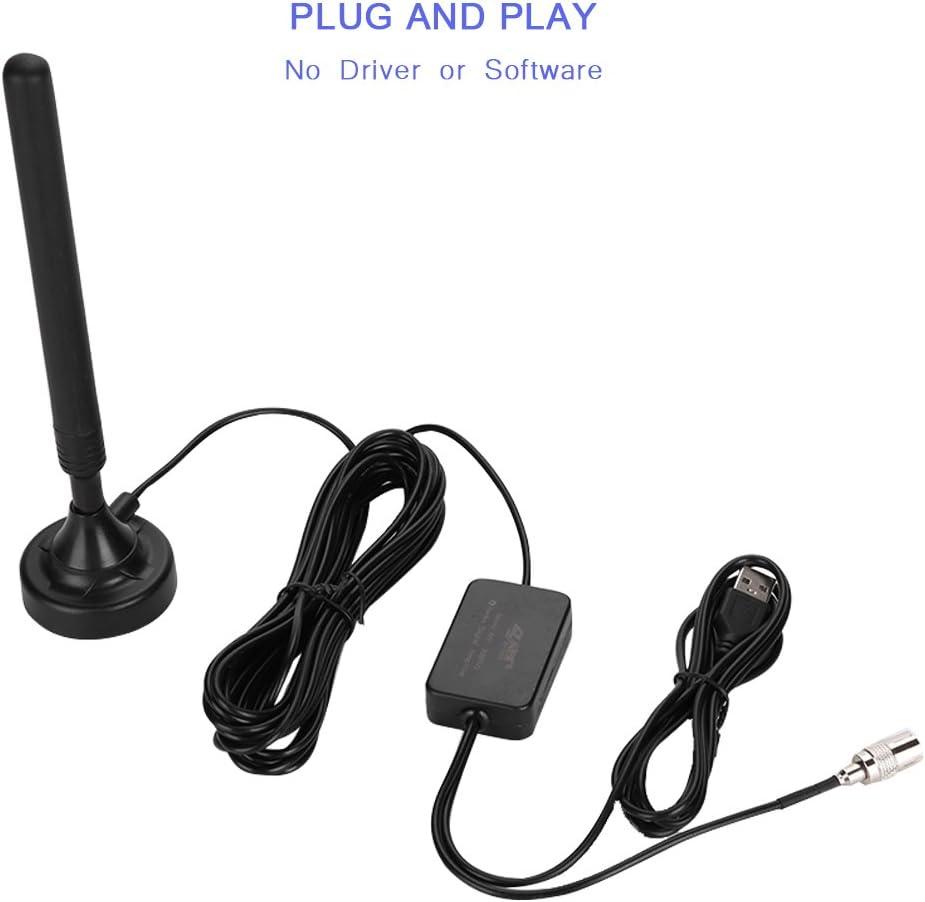 Vbestlife Antena FM Dipole Portátil Amplificador Antena FM de Alta Frecuencia de 85-112Mhz Instalación Simple