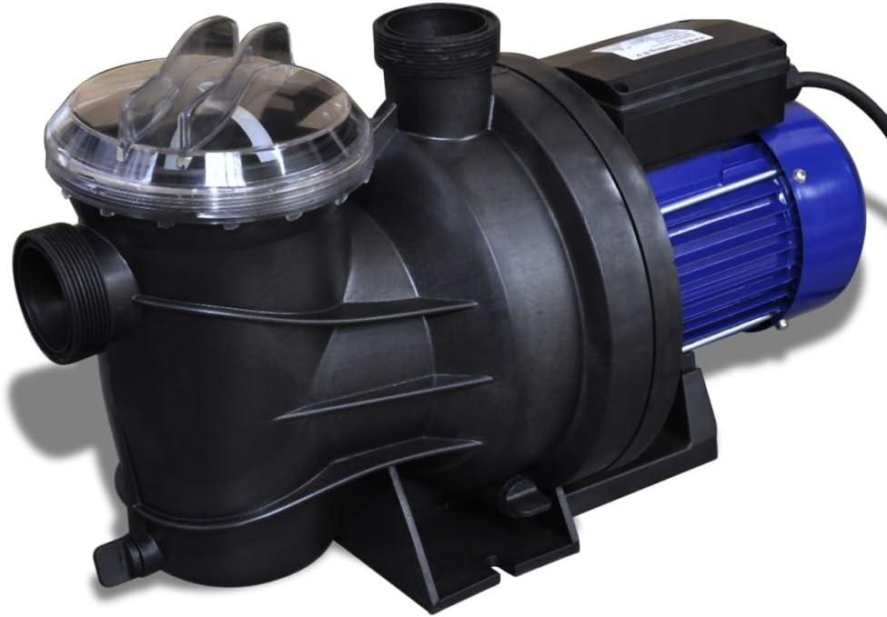 Bomba de Piscina Eléctrica 800W Azul