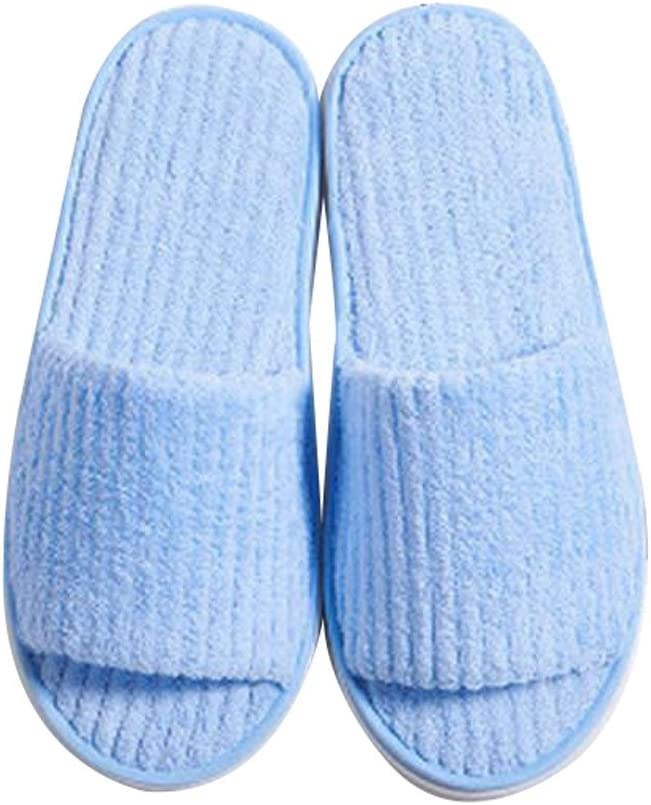 George Jimmy 10 Pairs Non-Slip Hotel/Travel/Home Disposable Slippers - A16