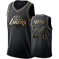 Jersey Baloncesto Kobe Bryant Nº 24 Jersey, Camiseta De Los Lakers Sudadera Camiseta del Verano Apretado Bordado Tamaño…