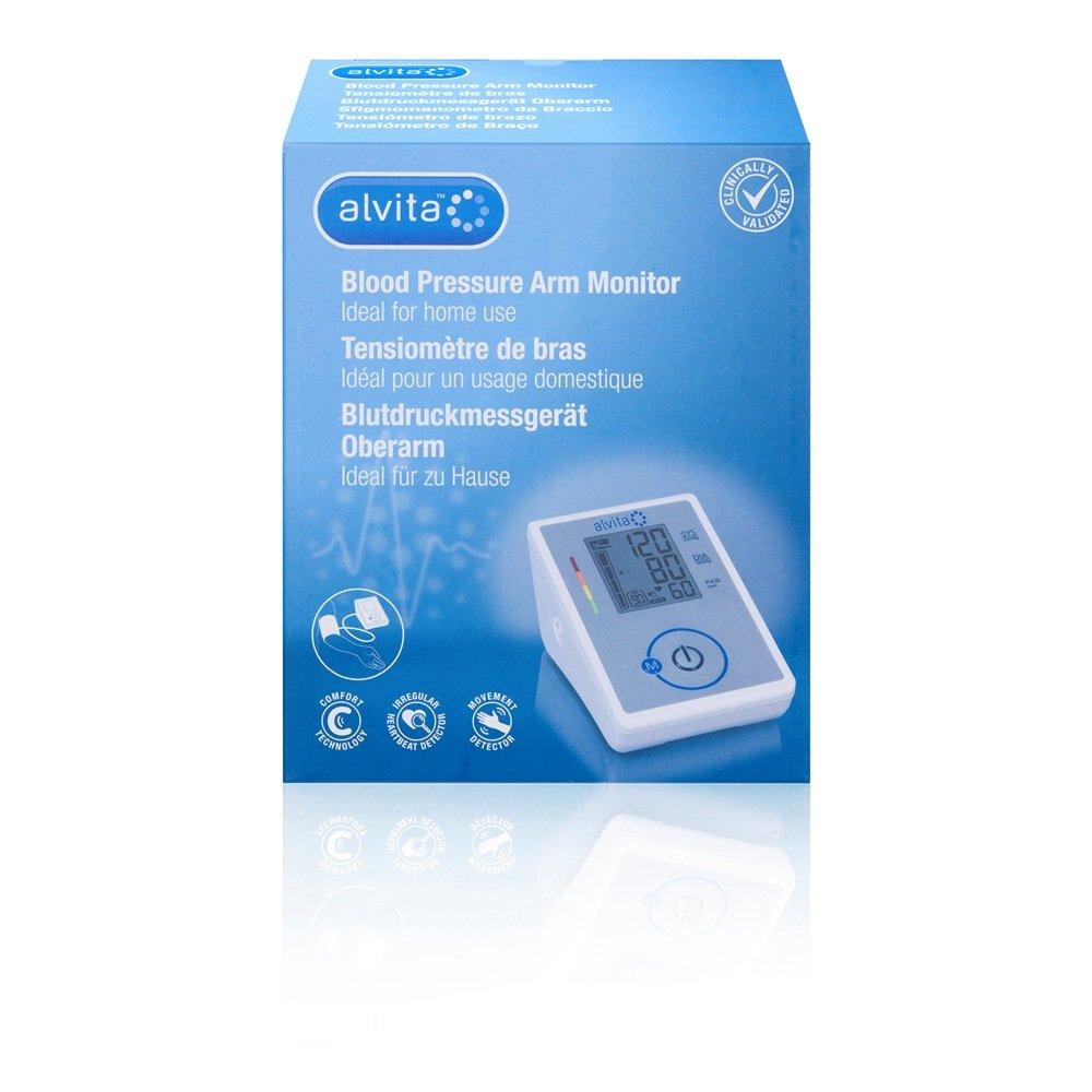 Alvita - Tensiómetro automático de brazo: Amazon.es: Salud y cuidado personal